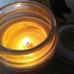 never burn candles FI