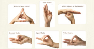 yoga hand signs FI