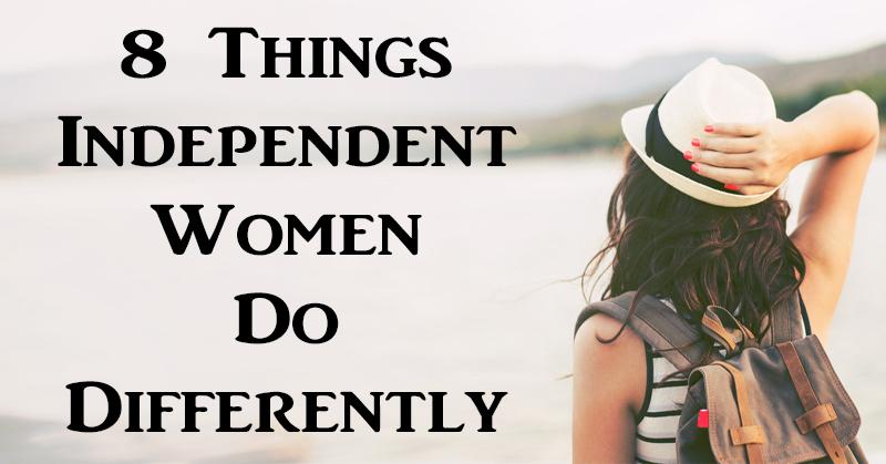 independent woman FI