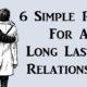 rules long lasting relationship FI