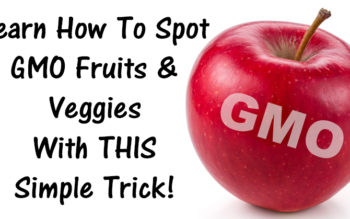 Learn How To Spot GMO Fruits & Veggies With THIS Simple Trick!