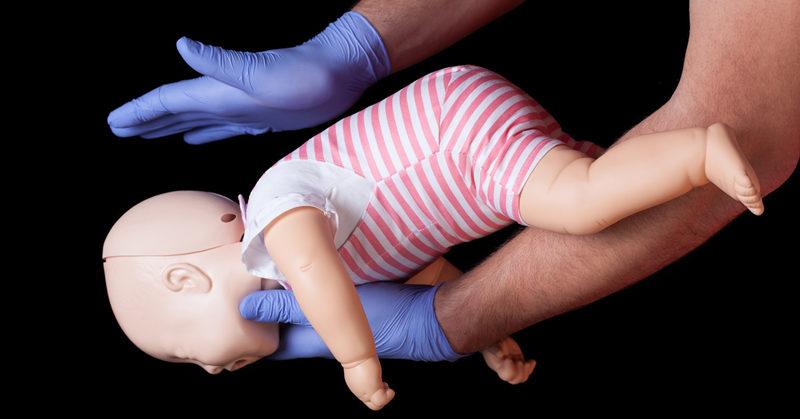 choking baby FI