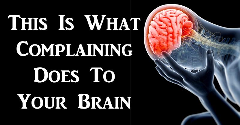 complaining brain FI