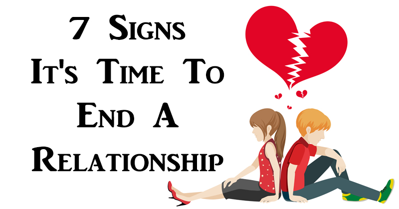 end relationship FI