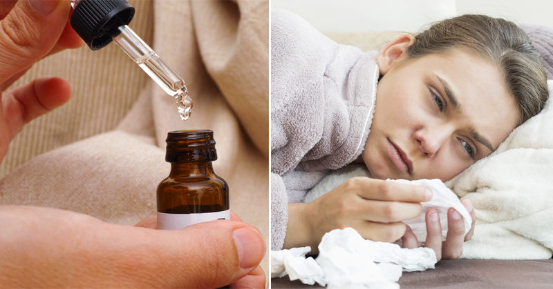 essential oil cold FI