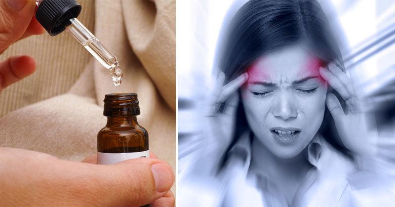 essential oil migraine FI