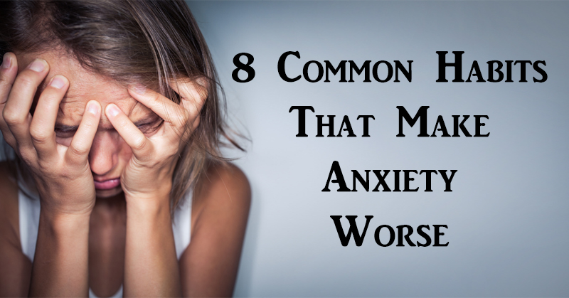 habits anxiety worse FI