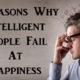 intelligent fail happiness FI
