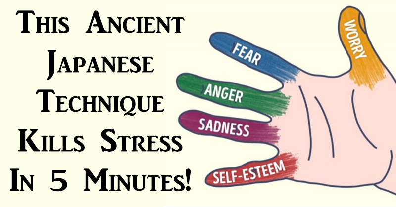 Image result for This Ancient Japanese Technique Kills Stress In 5 Minutes!.