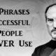 phrases successful FI
