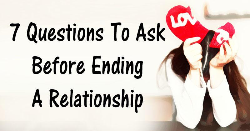 questions ask relationship FI