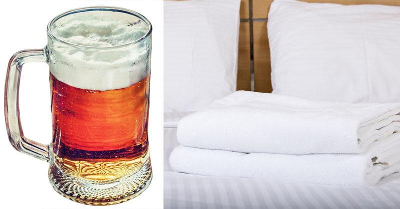 wash sheets beer FI