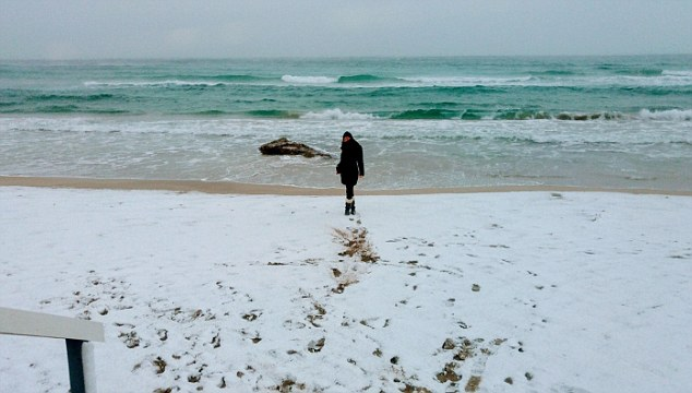 Snow-Covered Beaches in Salento