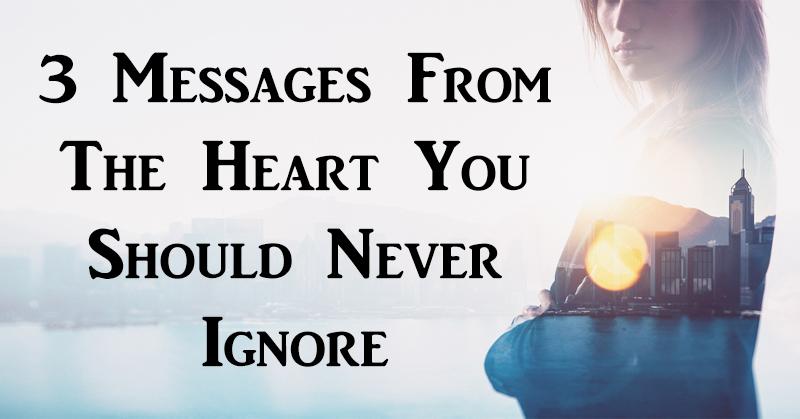 3 messages heart FI