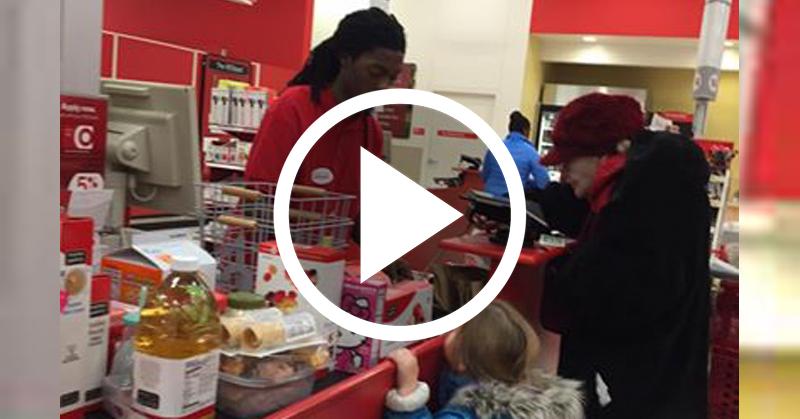 cashier viral FI