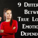 emotional dependency FI
