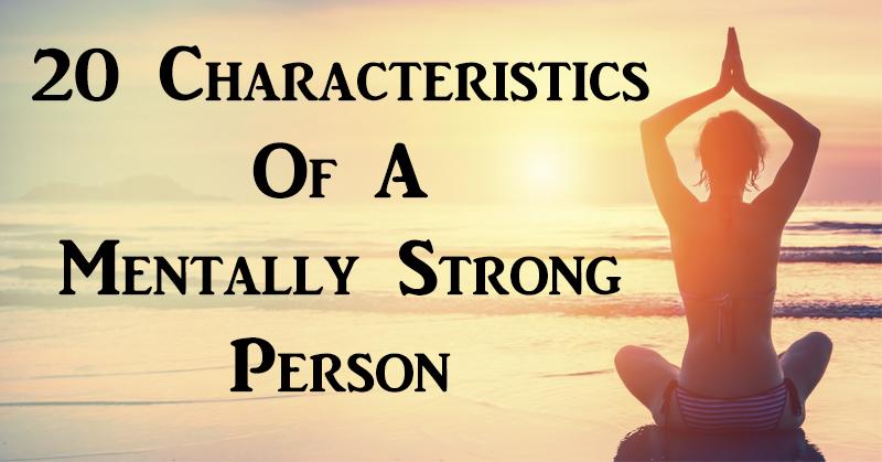 mentally strong person FI