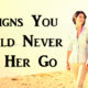never let her go FI