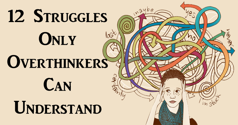 sturggles overthinkers FI