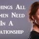 women need relationship FI