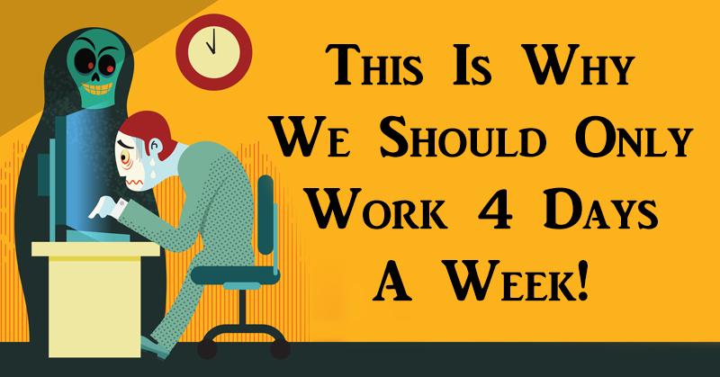 work 4 days FI