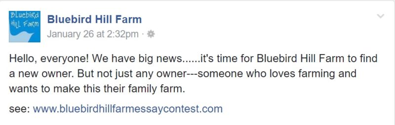 Win THIS Organic Farm In North Carolina With A 200 Word Essay ...