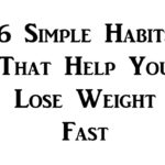 habits lose weight FI