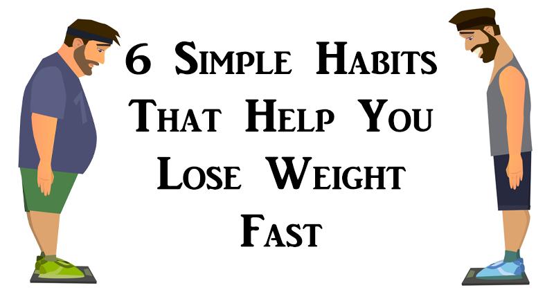 habits lose weight FI