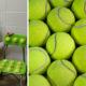 tennis balls chairs FI