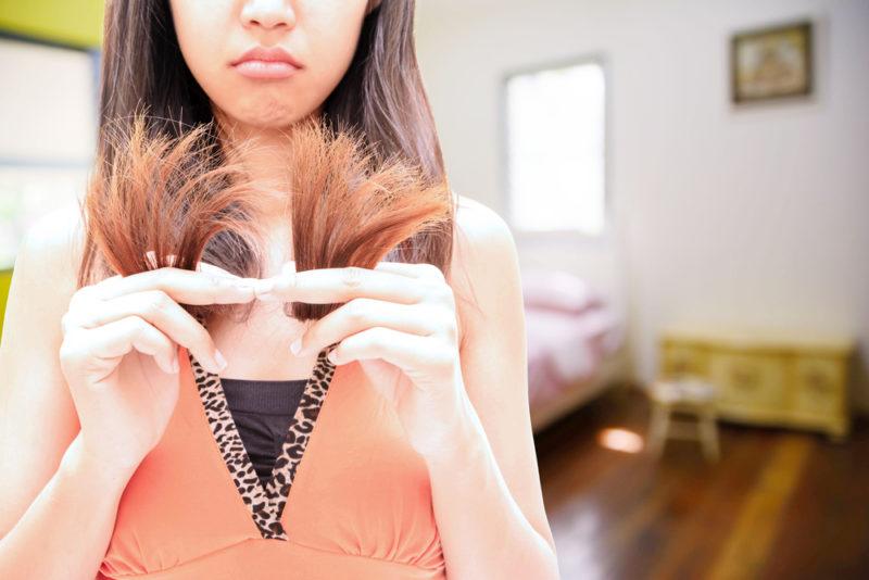 dry hair nutrient deficiency
