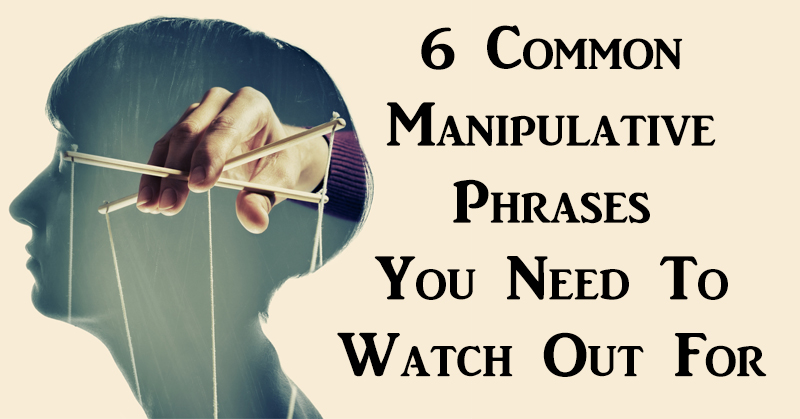 manipulative phrases FI