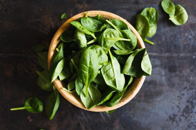 spinach prevent strokes