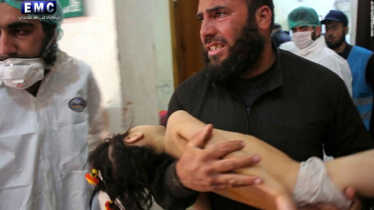 Image result for photos, the dead, chemical attack, syria, in truck