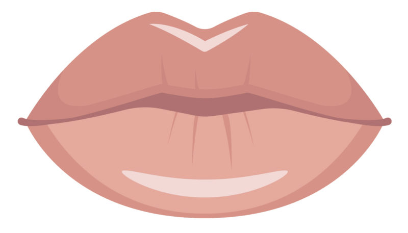 how to shape lips naturally