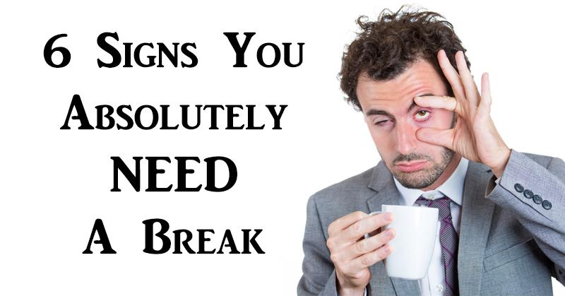 need break FI