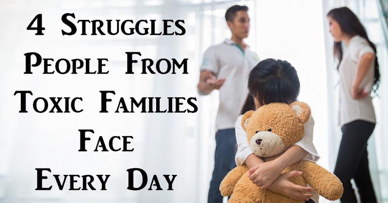 struggles toxic family FI