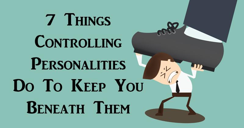 controling personalities FI