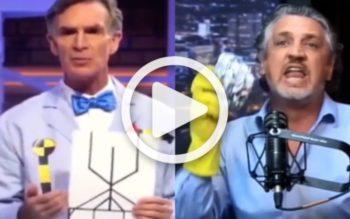 BOOM! Bill Nye's Pro-Vaccine Propaganda Shut Down By Producer of Vaxxed Documentary