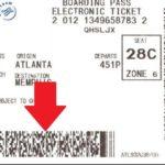 throw away boarding pass FI