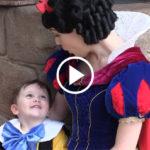 autistic boy snow white FI