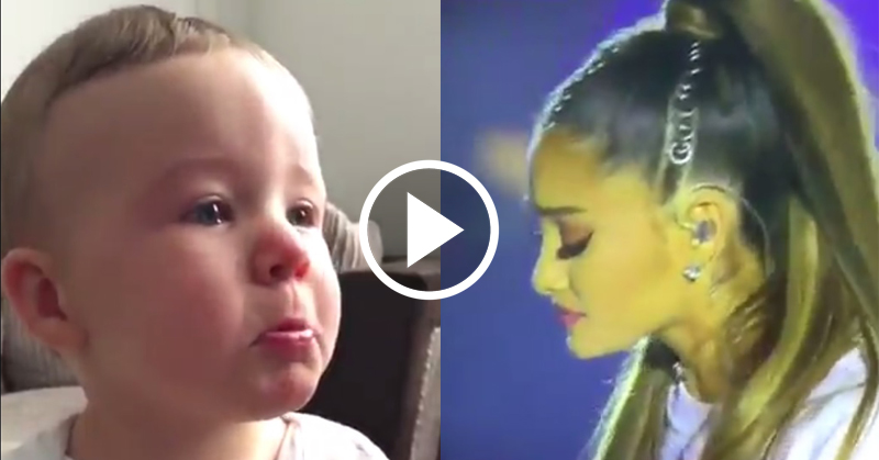 baby ariana cry FI