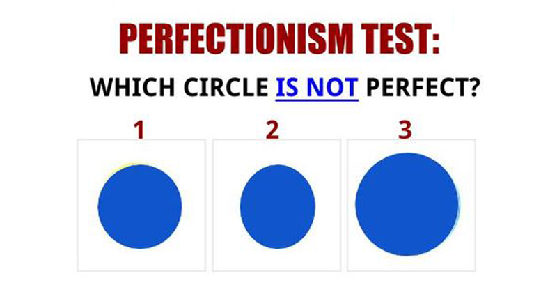 perfectionist test FI