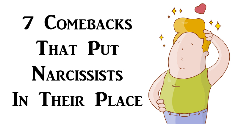 comebacks narcissists FI
