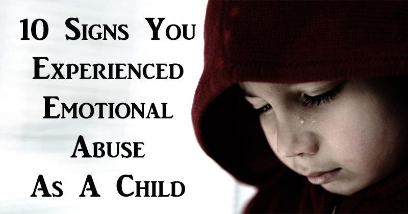 emotional abuse child FI