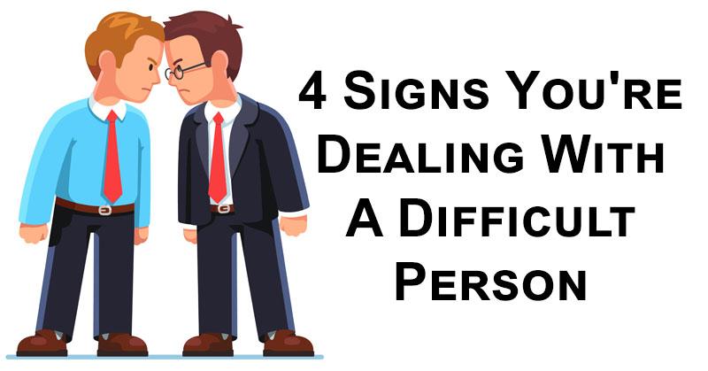 difficult person FI