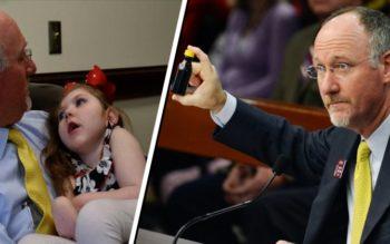 Congressman Breaks The Law To Get Medical Marijuana To Children