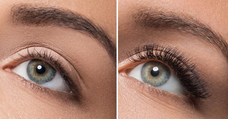 long eyelashes FI