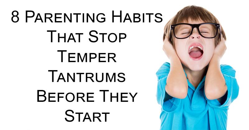 parenting temper tantrums FI