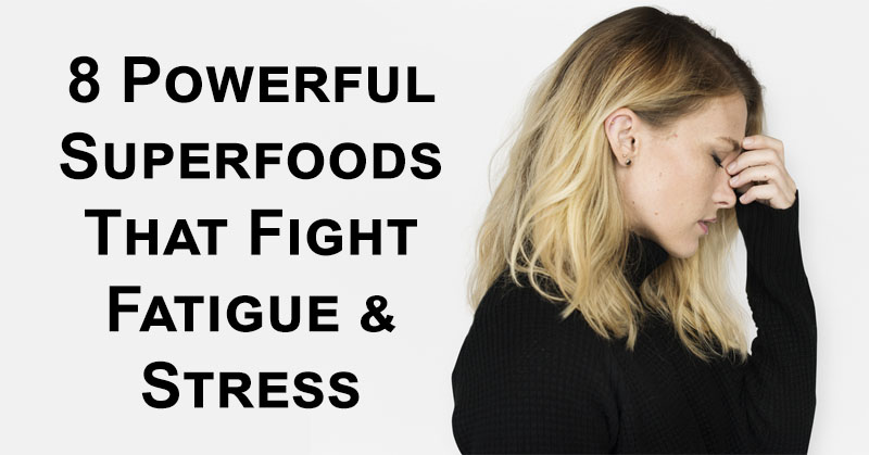 superfoods stress FI