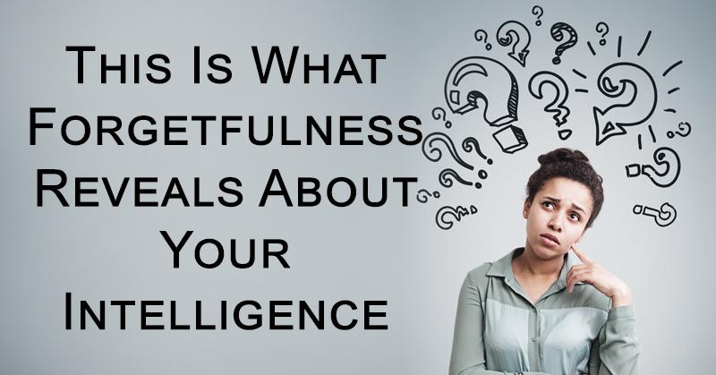 forgetfullness intelligence FI